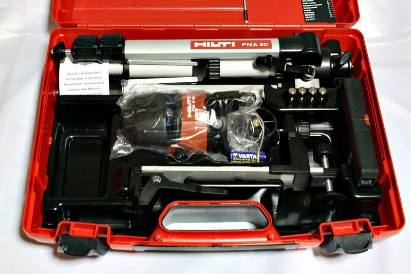 画像1: 《買取価格48,000円》 ヒルティ マルチラインレーザー PM4-M買取しました。 (1)