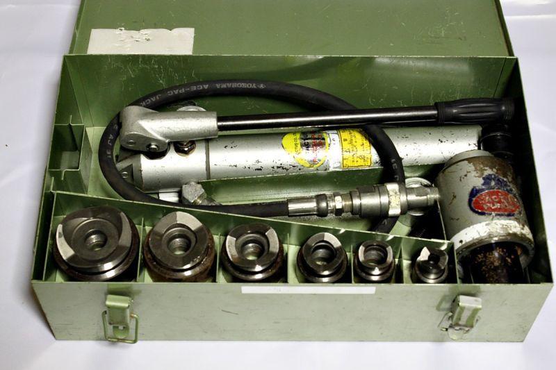 画像1: 《買取価格25,000円》 カクタス 手動油圧パンチャーセット SKP買取しました。 (1)