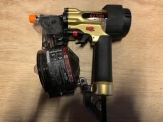 画像1: 《買取価格23,000円》 日立 50mm高圧釘打機 NV50H買取しました。 (1)