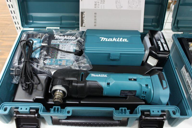 画像1: 《買取価格29,000円》 マキタ充電式マルチツールTM51DRG 買取しました! (1)