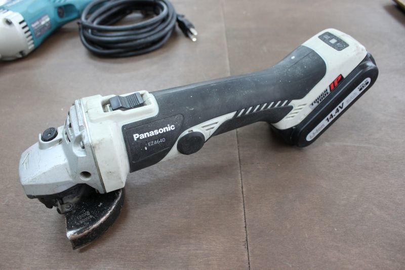 画像1: パナソニック 充電式ディスクグラインダー EZ4640 買取しました。 (1)