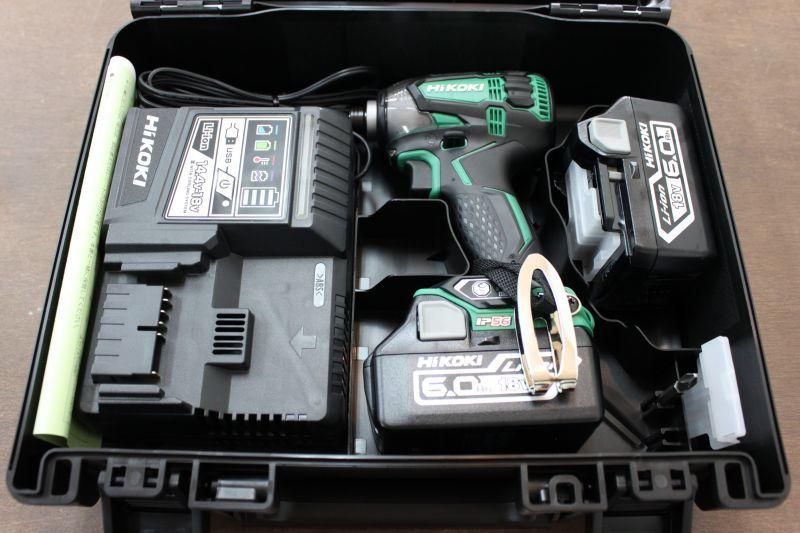 画像1: 【買取価格28,000円】新品 HIKOKI インパクトドライバー WH18DDL2 2LYPK 買取しました。 (1)