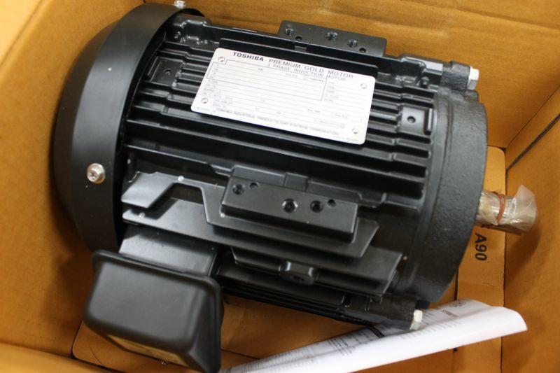 画像1: 東芝製 三相モーター 2台 買取しました。 (1)