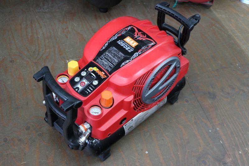 画像1: マックス エアコンプレッサー AK-HL1250EII 買取しました。 (1)