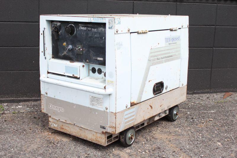 画像1: デンヨー ディーゼルエンジンウェルダー TLW-180SSY 買取しました。 (1)