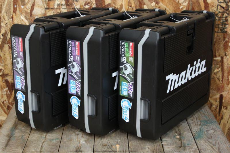 画像1: 新品!限定色!マキタ インパクトドライバ TD171DRGX 3台買取しました。 (1)