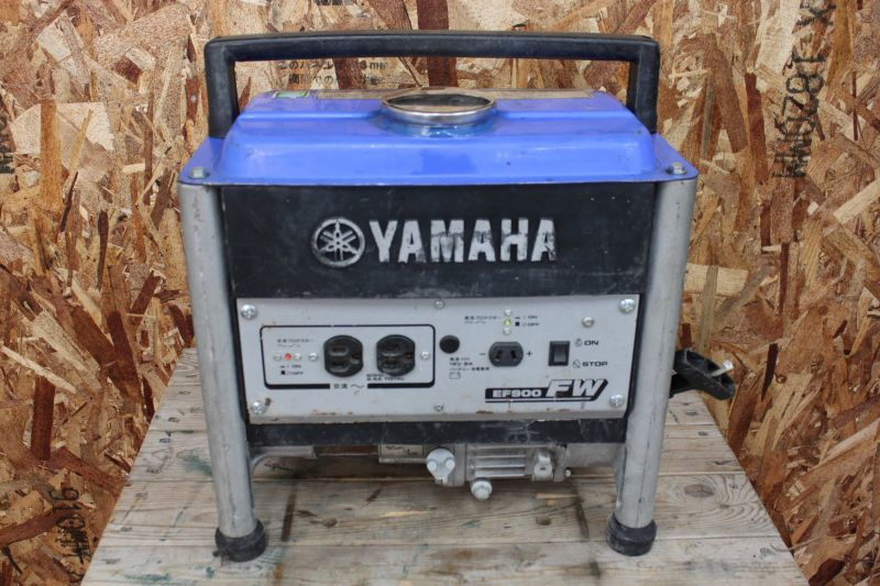 画像1: 中古 ヤマハ ポータブル発電機 EF900FW 買取しました。 (1)
