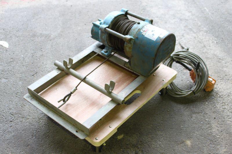 画像1: 中古 ユニパー 電動ウインチ UP-703NII 買取しました。 (1)