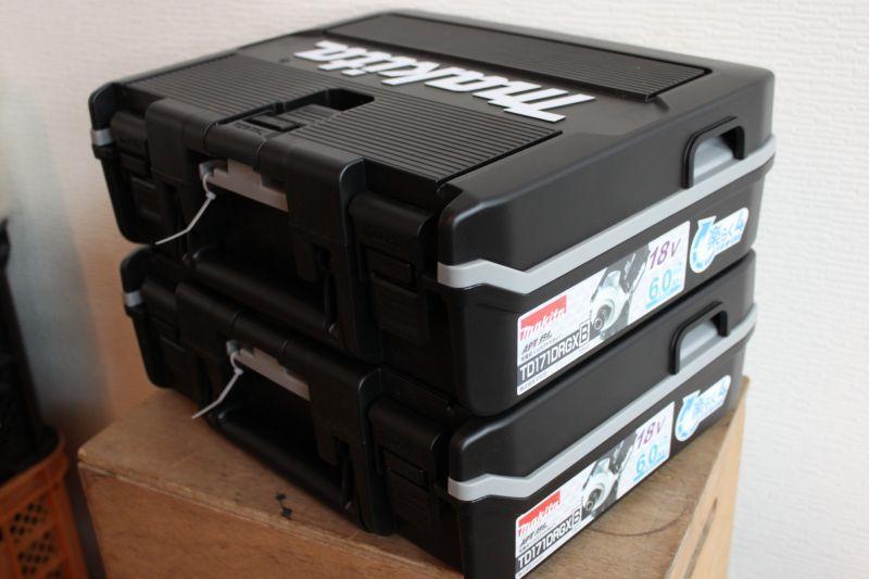 画像1: 新品 マキタ インパクトドライバ TD171DRGXB 2台 買取しました。 (1)