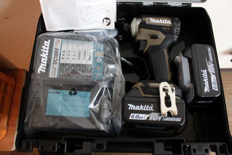 画像1: 新品 マキタ インパクトドライバ TD171DGXAB 買取しました。 (1)