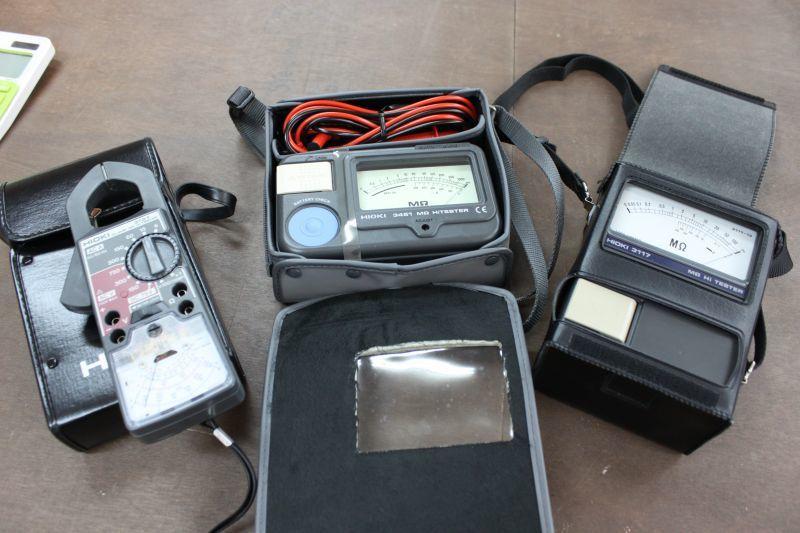 画像1: HIOKI メガオームハイテスター クランプメーター 買い取りさせていただきました。 (1)