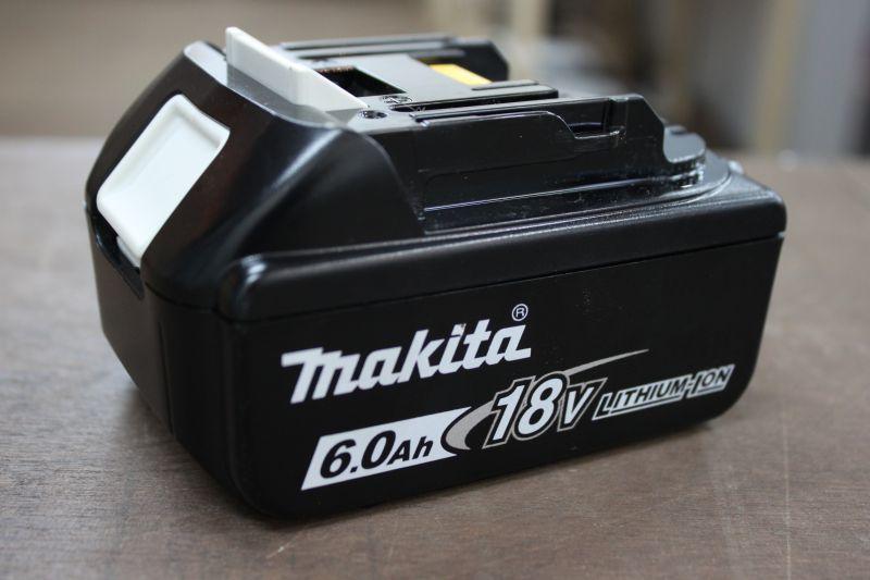 画像1: 中古美品 マキタ リチウムイオンバッテリー BL1860B 6.0Ah 買い取りさせていただきました。 (1)