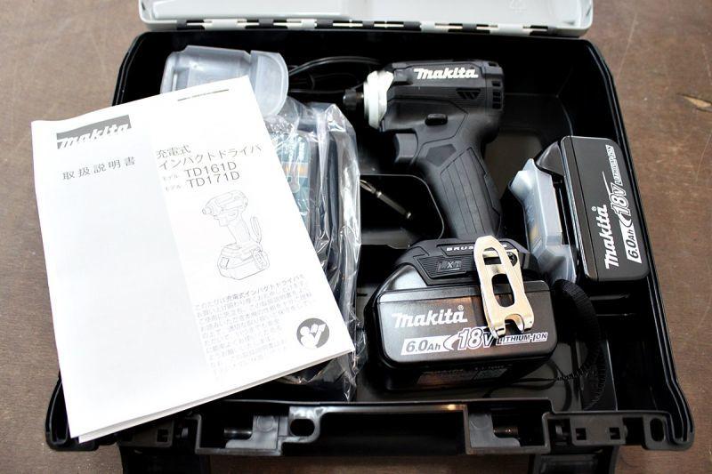 画像1: 《買取価格30,000円》新品 マキタ インパクトドライバ TD171DRGXB 買い取りさせていただきました。 (1)
