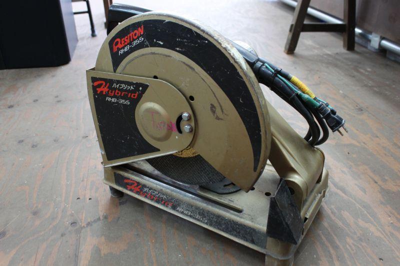 画像1: 中古 レヂトン 355mm高速切断機 RHB-355 買い取りさせていただきました。 (1)