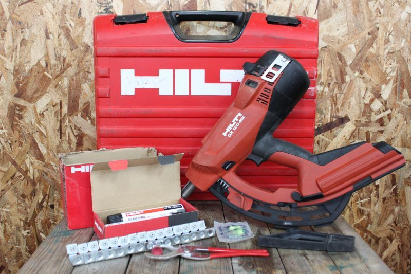 画像1: 中古 HILTI ガス式鋲打機 GX120-ME ガスネイラ 買い取りさせていただきました。 (1)