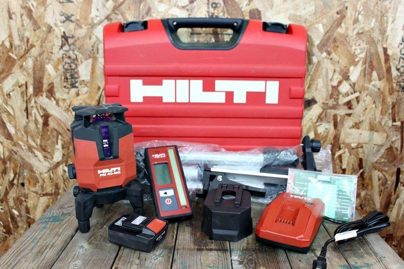画像1: 美品 HILTI 充電式グリーンレーザー墨出し器 PM40-MG 買い取りさせていただきました。 (1)