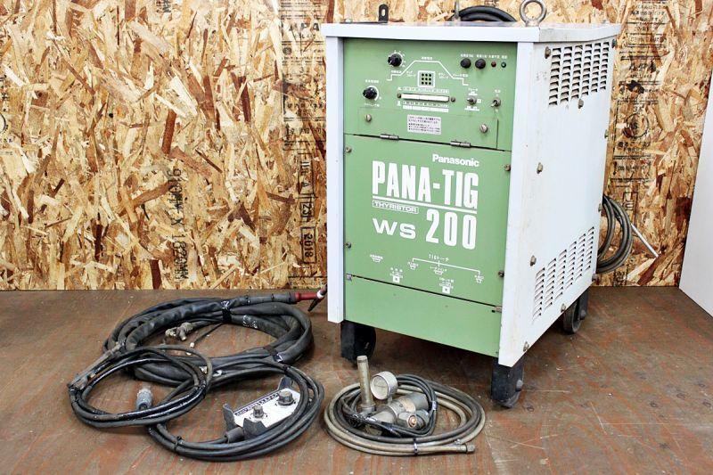 画像1: 中古 パナソニック TIG溶接機 PANA-TIG WS200 買取させていただきました。 (1)