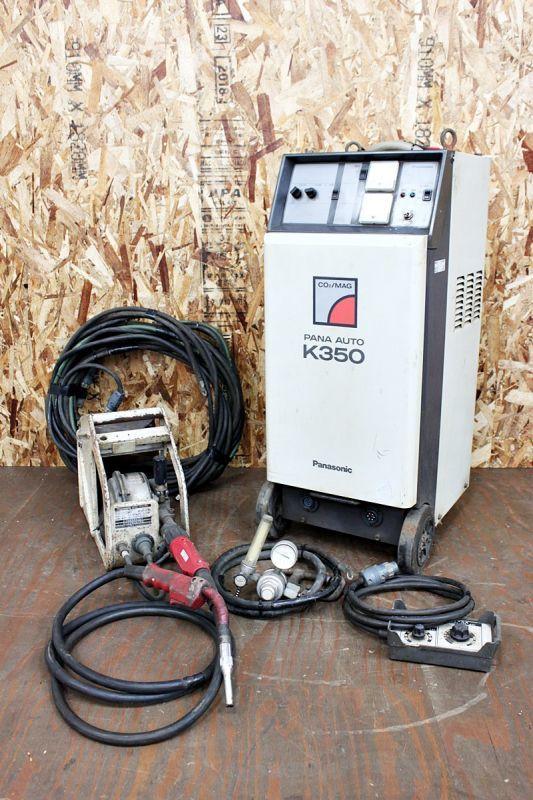 画像1: 中古 パナソニック 半自動溶接機 PANA AUTO K350 買取させていただきました。 (1)