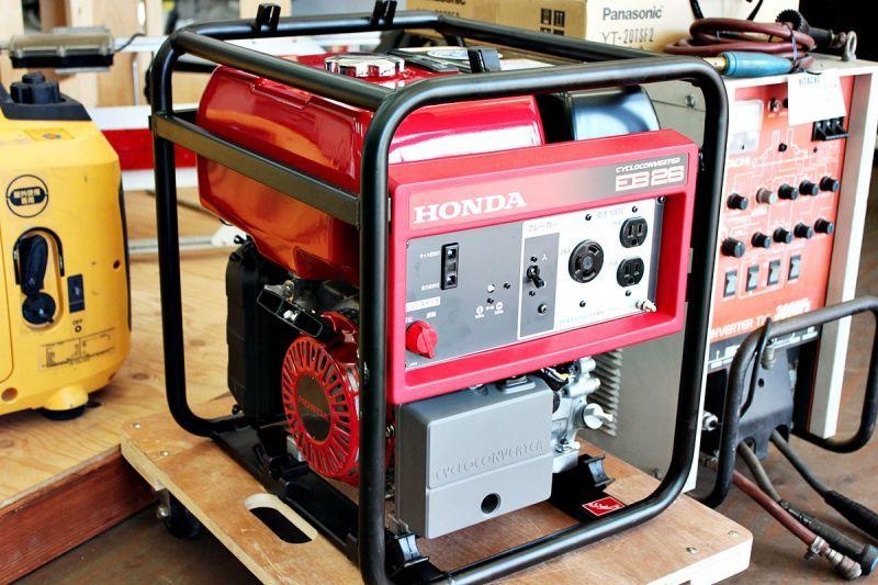 画像1: 極美品 HONDA ガソリンエンジン発電機 EB26 買取させていただきました。 (1)