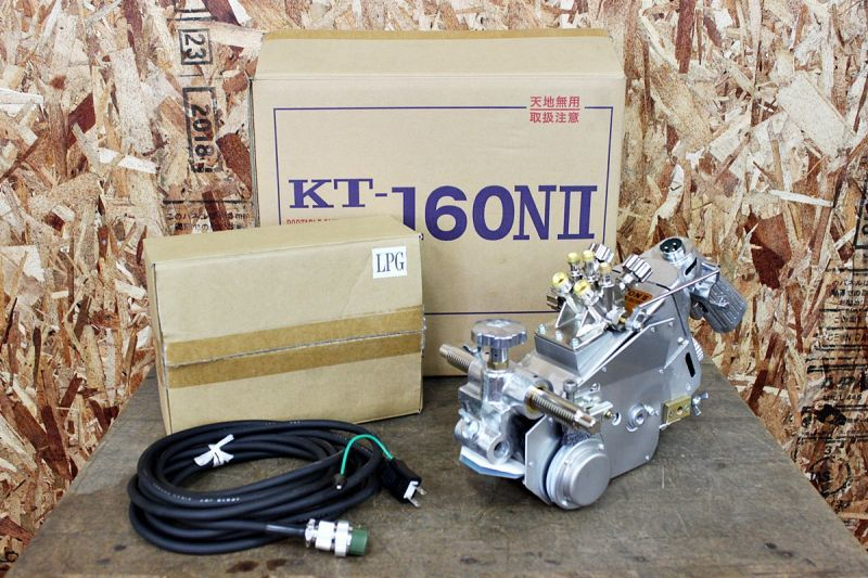 画像1: 未使用 日酸TANAKA 自動ガス切断機 KT-160NII 買取させていただきました。 (1)