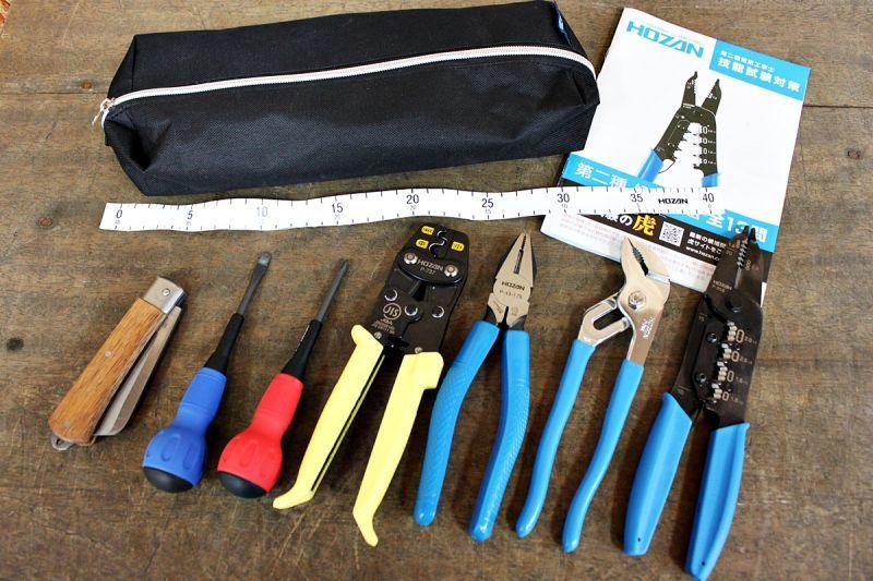 画像1: ホーザン 電気工事士技能試験工具セット DK-28 買取させていただきました。 (1)