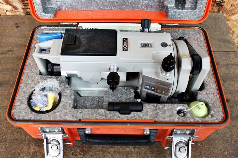画像1: 中古 ソキア 電子セオドライト DT6S 買取させていただきました。 (1)