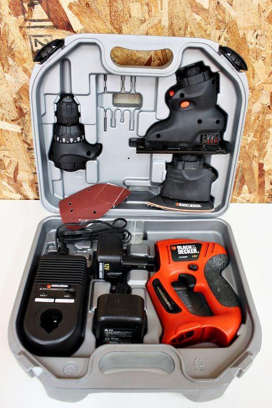 画像1: ホームセンター用電動工具買取ります!ブラックアンドデッカー 充電式マルチツール KC2000F 買取させていただきました。 (1)