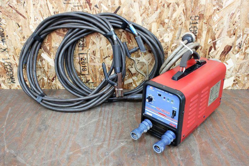 画像1: 溶接機の買取はお任せください!スワロー電機 インバーター溶接機 SA-180DX 買取させていただきました。 (1)