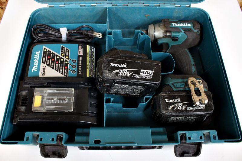 画像1: 本日の買取分!マキタ 充電式インパクトレンチ TW285DRMX  (1)