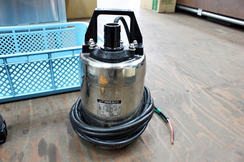 画像1: 本日の買取分!ツルミ ステンレス水中ポンプ 40SQ2.25-62 (1)