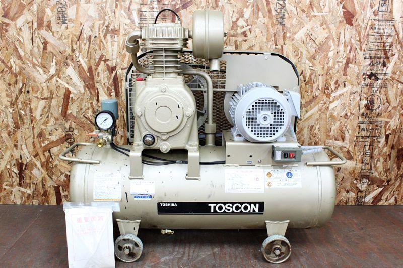 画像1: 東芝 2馬力レシプロコンプレッサー SP10D-15T2 買取させていただきました。 (1)
