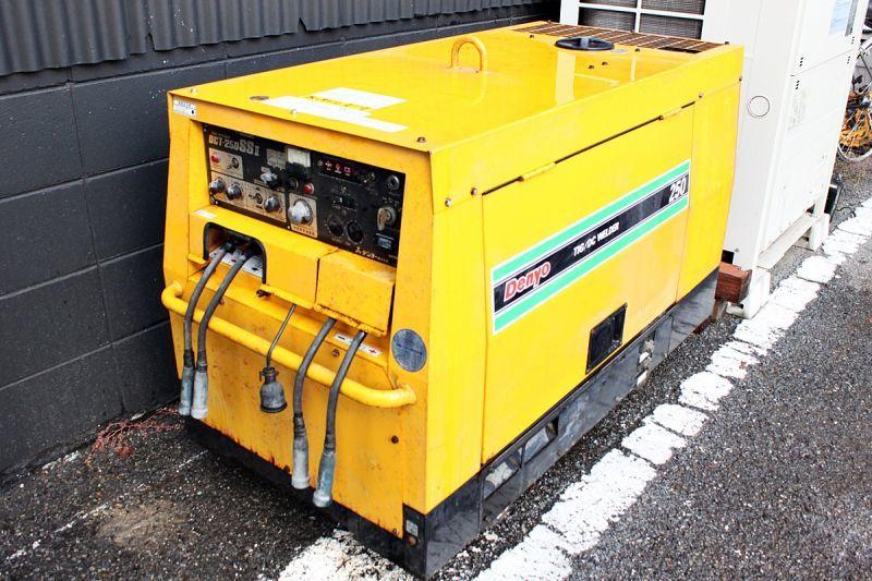 画像1: デンヨー エンジンTIGウェルダー DCT-250SSII 買取させていただきました。 (1)