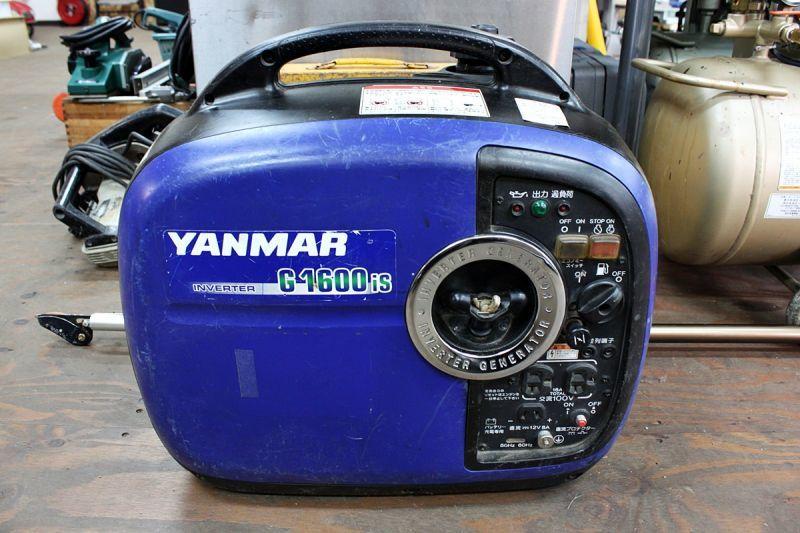画像1: 本日の買取分!ヤンマー インバーター発電機 G1600iS (1)