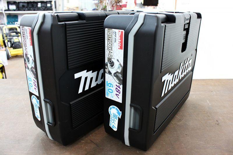 画像1: 本日の買取分!新品 マキタ インパクトドライバー TD171DGXABとAR (1)