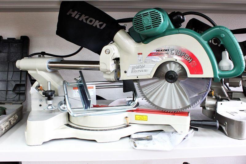 画像1: HiKOKI 260mm スライドマルノコ C10FSH 買取させていただきました。 (1)