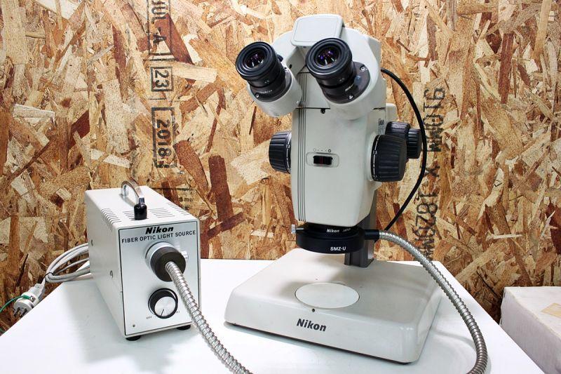 画像1: こんなものまで!Nikon 実体顕微鏡 SMZ-U 買取させていただきました。 (1)