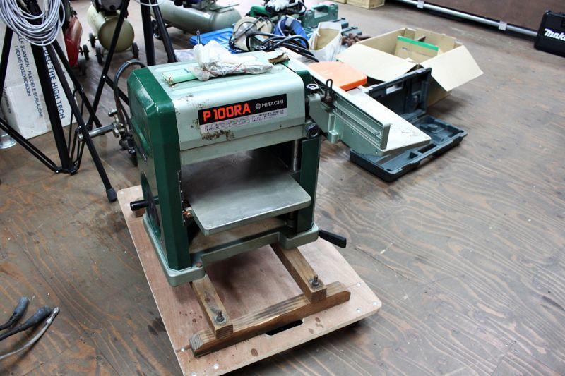 画像1: 大工さん DIYにも!日立 自動カンナ P100RA 買取させていただきました。 (1)