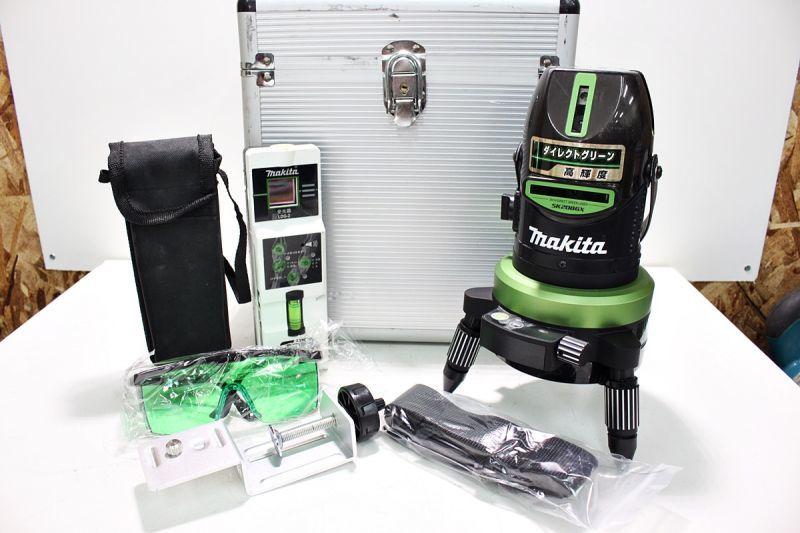 画像1: きれい!マキタ グリーンレーザー墨出し器 SK208GX 買取させていただきました。 (1)