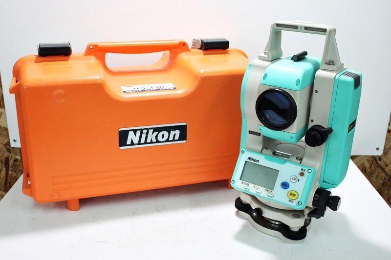 画像1: 測量機器もおまかせください。ニコン トータルステーション NST-C1r 買取させていただきました。 (1)