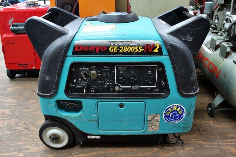 画像1: 災害対策に!デンヨー インバーター発電機 GE-2800SS-IV2 買取させていただきました。 (1)