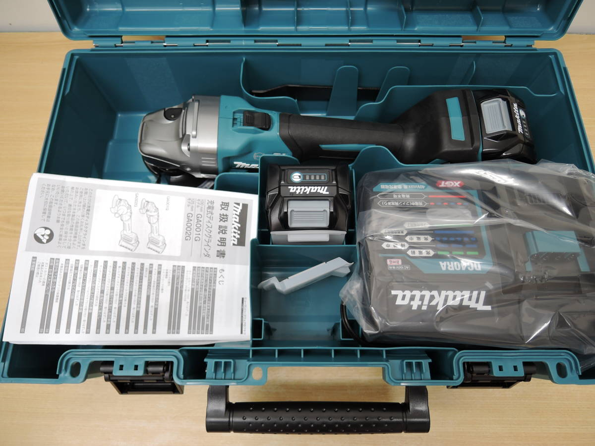 画像1: 新品マキタ高価買取!40Vmax 充電式ディスクグラインダ GA001GRDX 買取させていただきました。 (1)