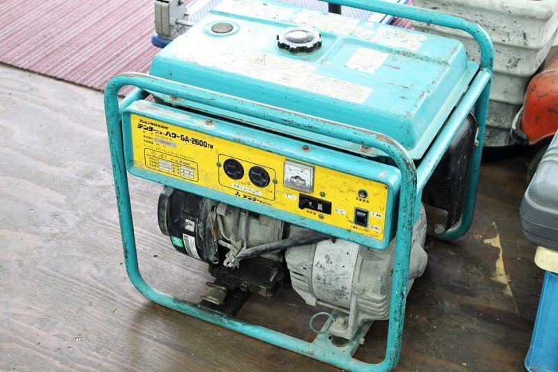 画像1: 災害対策に!デンヨー エンジン発電機 GA-2606TN 買取させていただきました。 (1)