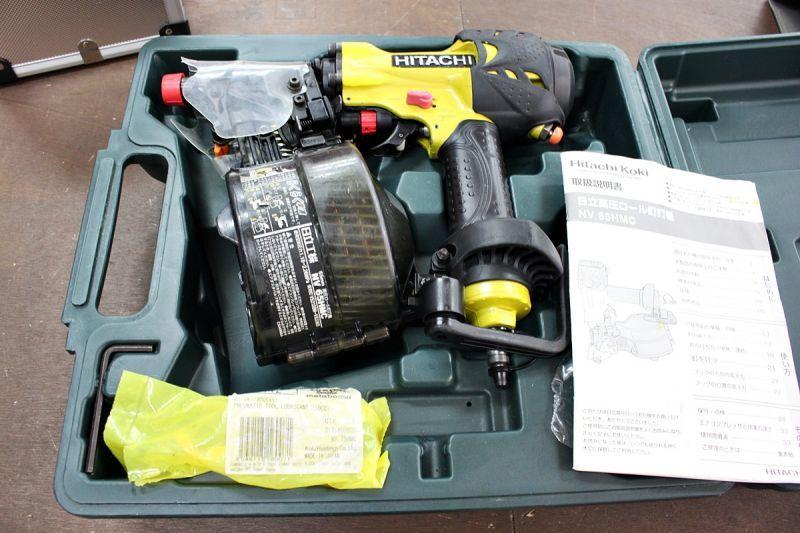 画像1: 日立 65mm高圧釘打機 NV65HMC 買取させていただきました。 (1)