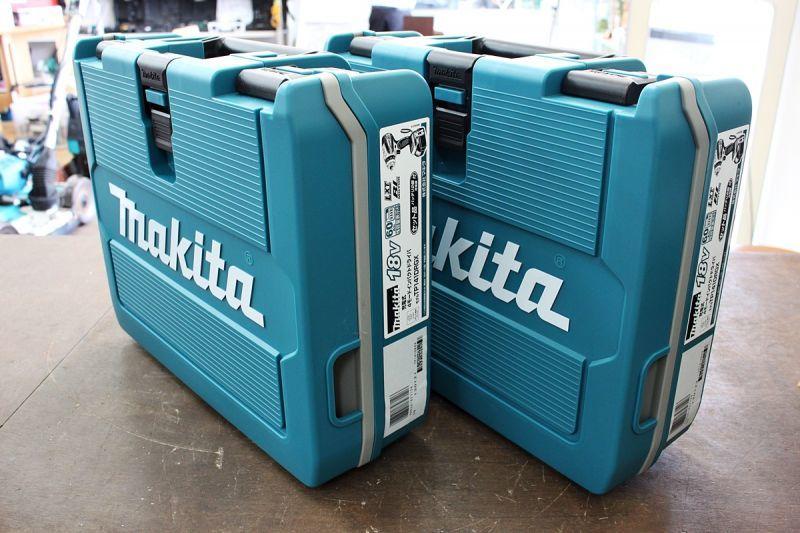 画像1: 新品 マキタ 4モードインパクトドライバ TP141DRGX 2台 買取させていただきました。 (1)