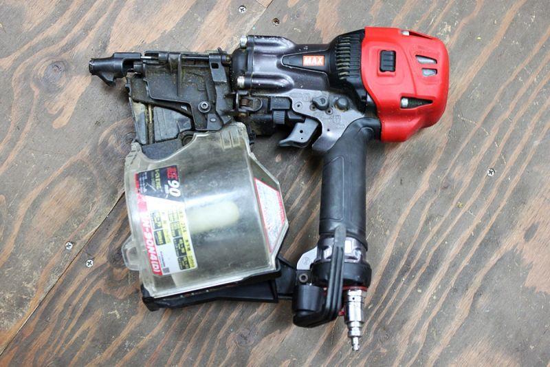 画像1: 中古 マックス 90mm高圧釘打機 HN-90N4(D) 買取させていただきました。 (1)