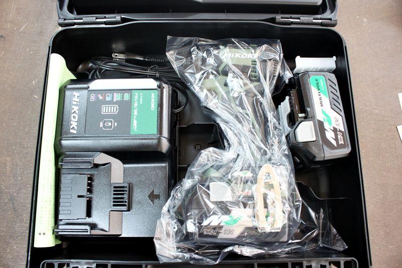 画像1: 新品買取 HiKOKI 36V インパクトドライバ WH36DC 2XPG 買取させていただきました。ツールヤード岡山 (1)