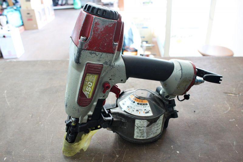 画像1: 中古買取 マックス 50mm常圧釘打機 CN-450S 買取させていただきました。ツールヤード岡山 (1)