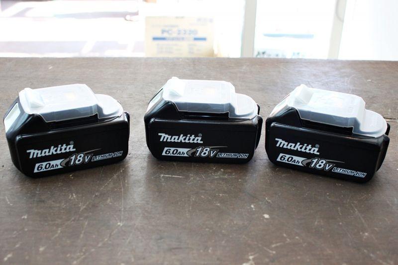 画像1: 新品買取 マキタ リチウムイオンバッテリー BL1860B 18V 6.0Ah 買取させていただきました。ツールヤード岡山 (1)